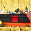 Toolbox with instruments — Stock Photo #64369843
