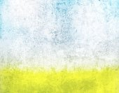 Yellow and blue grunge texture — Stockfoto