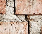 Muro agrietado — Foto de Stock