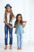 Fashion kids — Stock Photo