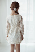 Lace dress — Fotografia Stock