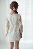 Lace dress — Stock Photo