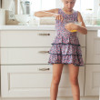 Child cooking — Stock Photo #56454351