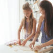 Child cooking — Stock Photo #56454433