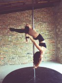 Ballerina del palo — Foto Stock
