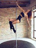 Tancerka słup — Zdjęcie stockowe