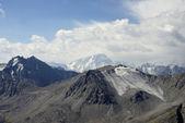 An ancient glacier in Kyrgyzstan — Stock Photo