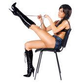 Rocker on a chair — Stock Photo