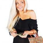 Woman on shopping — Stock Photo #53972093