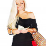 Woman on shopping — Stock Photo #53972391