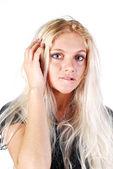 Blond woman — Stock Photo