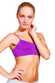 Young healthy woman — Stock Photo