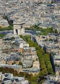 Arc de Triomphe seen from Tour Eiffel  — Stock Photo