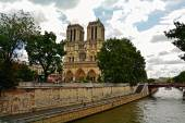 Cathedral of Notre Dame de Paris, France — Stock Photo