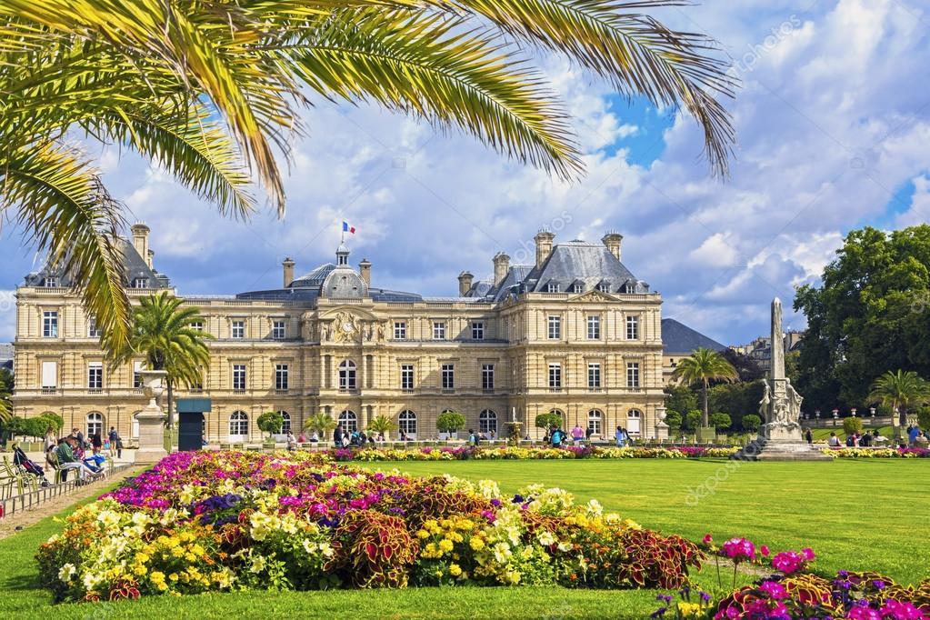 Palacio de los jardines de luxemburgo par s francia for Jardines de luxemburgo paris