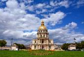 Les Invalides in spring time, Paris, France — Stock Photo