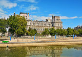 Hotel de Ville in Paris. — Stock Photo