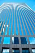 Glass facade of modern city buildings — Stockfoto