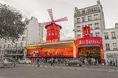 Moulin Rouge - famous cabaret in Paris — Stock Photo