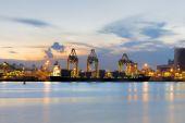 Puerto de Singapur — Foto de Stock
