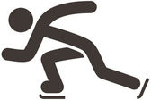 Skate icon — Stock Vector