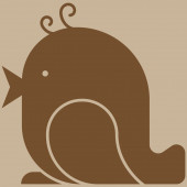 Icône de l'oiseau — Vecteur