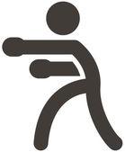 Boxing icon — Stock Vector