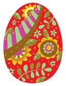 Easter egg — Stock Vector