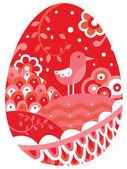 2998 - Easter egg — Stock Vector
