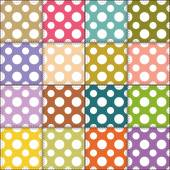 Patchwork  colorful background — Stock Vector