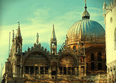 Basilica di San Marco St. Mark s Cathedral Venice — Stock Photo
