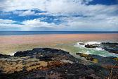 Vlny oceánu na Havaji — Stock fotografie