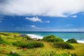 Landscape of Kauai island — Стоковое фото