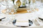 Conjunto de mesa de boda — Foto de Stock