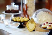 Wedding desserts and sweets — Foto de Stock