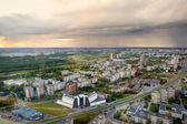 Vista aérea de vilna — Foto de Stock