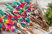 Lithuanian Easter decorative palm bouquets — Stock Photo