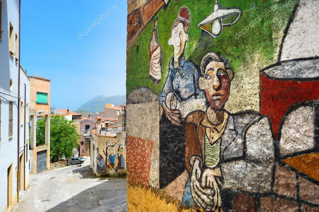 21 De Maio De 2014   Orgosolo: Murais, Pinturas De Parede Sobre Fatos  Históricos E Políticos Em Orgosolo, Sardenha, Itália U2014 Fotografia Por  Maximkabb Part 84