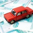 Car and money — Stock Photo #57657725