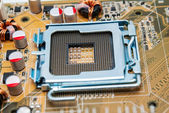 Electronic collection - Empty CPU socket — Stock Photo