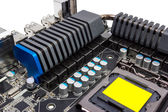 Electronic collection - Multiphase power system modern processor — Stock Photo