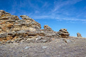 Plush Rocks near Baikal lake — Stock Photo