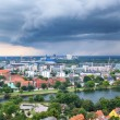 The bird's eye view from the Church of Our Saviour on the storm  — Stock Photo #54275411