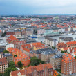 The bird's eye view from the Church of Our Saviour on Copenhagen — Stock Photo #54275425