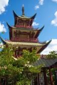 The Chinese Tower in Tivoli Garden. — Stock Photo