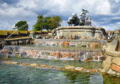 The Gefion Fountain, Copenhagen. — Stock Photo