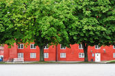 The storehouse in Kastellet, Copenhagen. — Stock Photo
