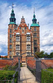 Rosenborg Castle in Copenhagen. — Stock Photo