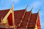 Roof of Wat Suwan Khirikhet buddist themple in Phuket — 图库照片