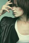 Heroin chic — Stockfoto